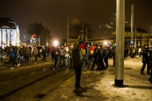 30. Januar Pegida Nope Blockade (13 von 20)