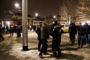 30. Januar Pegida Nope Blockade (14 von 20)