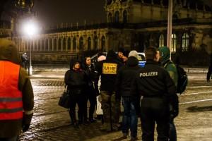 30. Januar Pegida Nope Blockade (16 von 20)