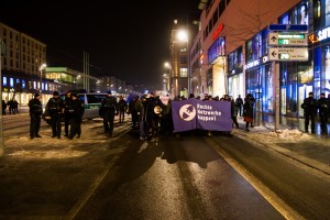 30. Januar Pegida Nope Blockade (1 von 20)