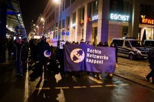 30. Januar Pegida Nope Blockade (2 von 20)