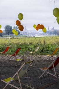 Sicht auf Dresden
